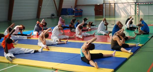 Séance de Pilates - Dieppe 2010