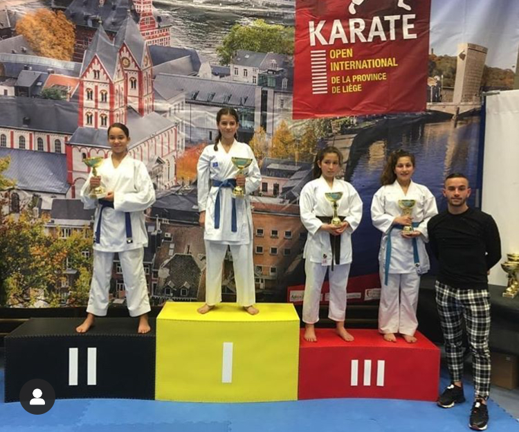 Noemie Bas 3e Open Int.Liège